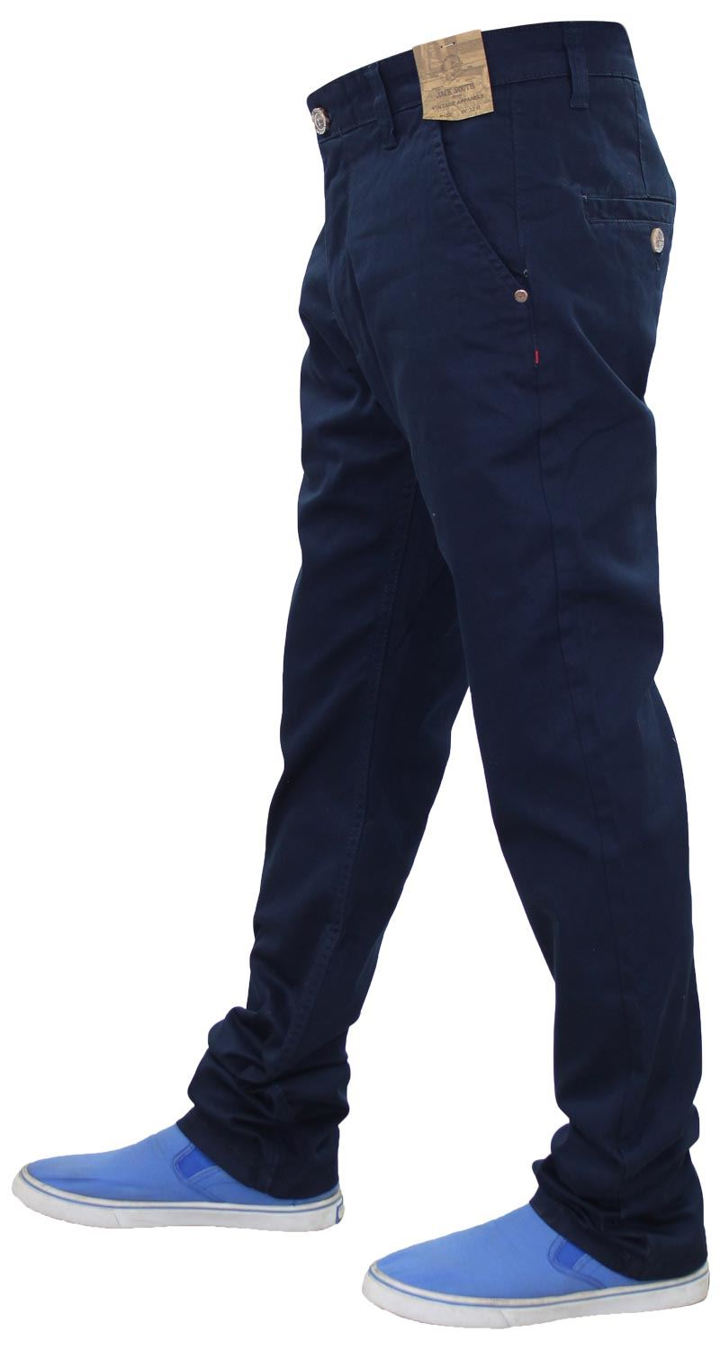 Jacksouth-Mens-Chinos-Trousers-Regular-Fit-Stretch-Cotton-Rich-Twill-Jeans-Pants thumbnail 21