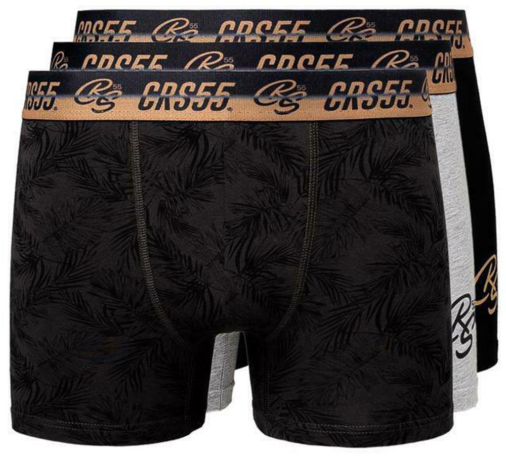 thumbnail 58 - Mens Crosshatch Boxers 3 Pack Shorts Underwear Underpants Trunks Multipack Sets