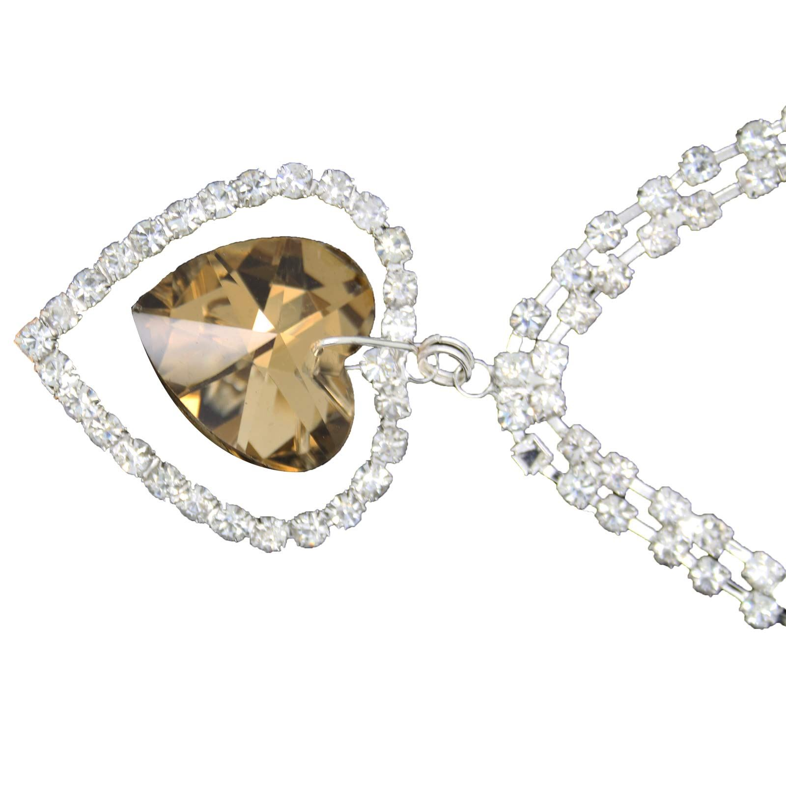 True-Face-Ladies-Women-039-s-Elegant-Earrings-Necklace-Set-Metal-Alloy-Jewellery thumbnail 39