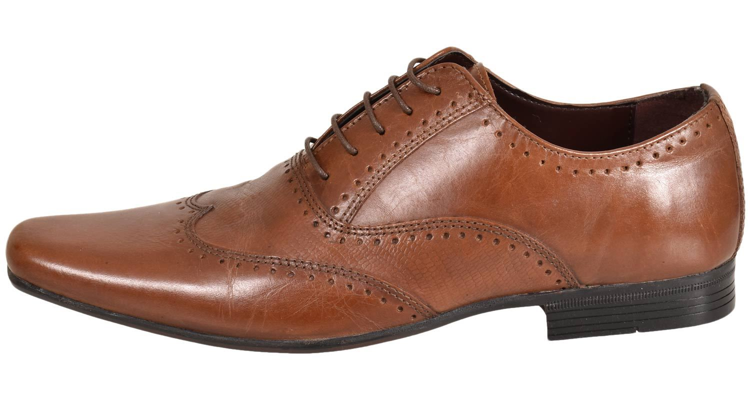 Mens-UK-Style-Leather-Lining-Formal-Office-Wedding-Smart-Work-Brogue-Shoes thumbnail 33