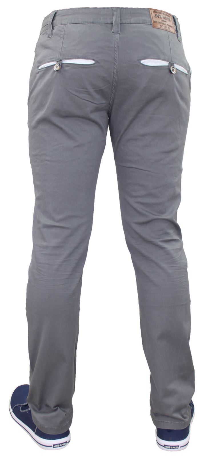 Men-Chinos-Trousers-Regular-Fit-Stretch-Cotton-Jeans-Pants-All-Waist-Sizes thumbnail 8