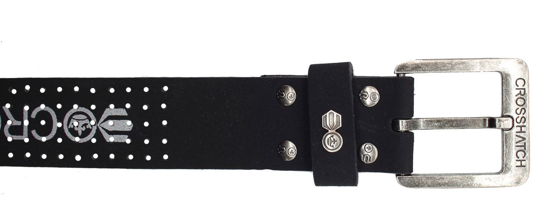Crosshatch-Mens-Real-Leather-Belts-Stylish-Engraved-Pattern-Men-Belt-Buckle-New thumbnail 21