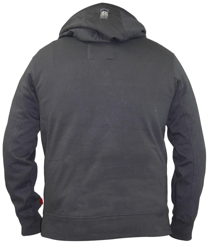 Mens-Crosshatch-Branded-Pullover-Printed-Hoodie-Sweatshirt-Hooded-Top thumbnail 8
