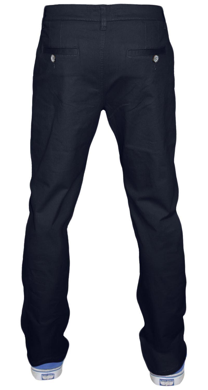 Jeans-da-Uomo-Chino-Stretch-Regular-Fit-Cotone-Rich-Pants-Pantaloni-Jacksouth-Chinos miniatura 10
