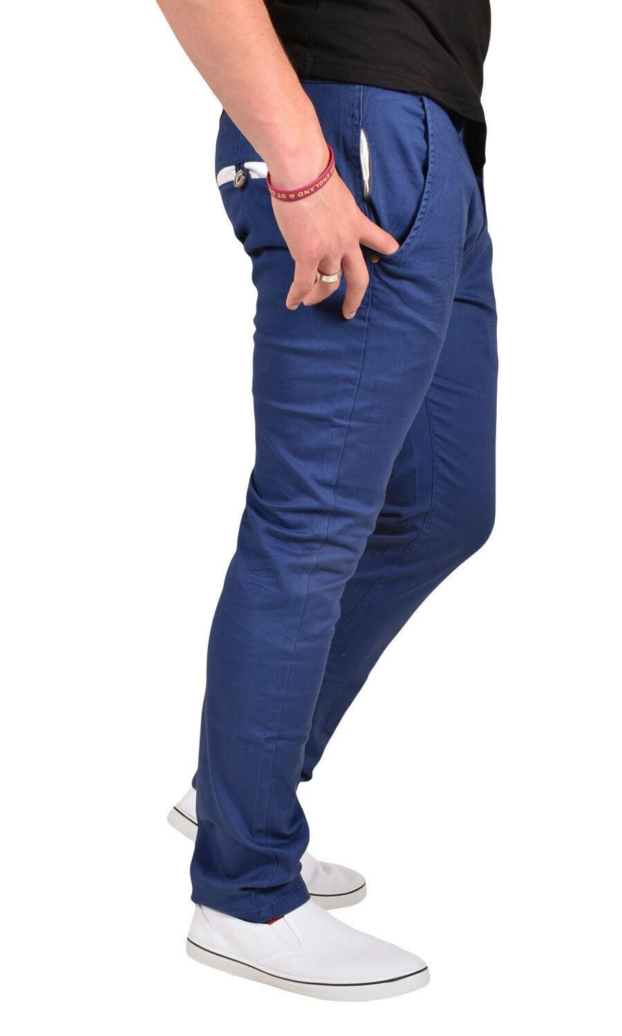 New-Mens-Designer-Jacksouth-Chino-Regular-Fit-Stretch-Cotton-Rich-Twill-Trousers thumbnail 6