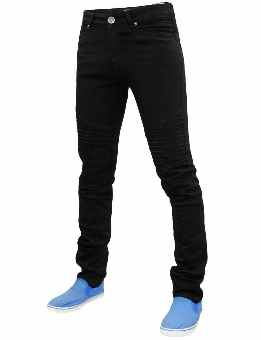 Gaffer Mens Skinny Jeans Slim Fit Trousers Denim Pants All Waist Leg Bottoms
