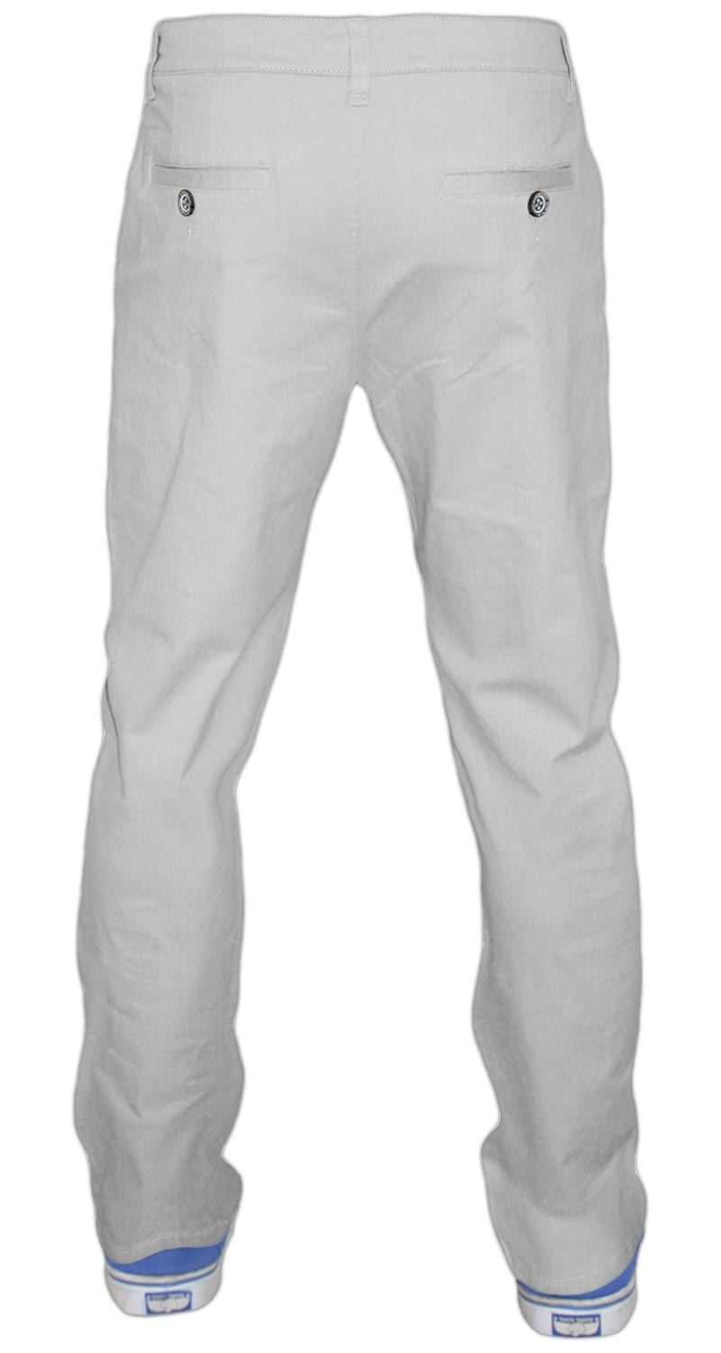 Men-Chinos-Regular-Fit-Jeans-Cotton-Stretch-Casual-Pants-Trousers-All-Waist-Size thumbnail 21