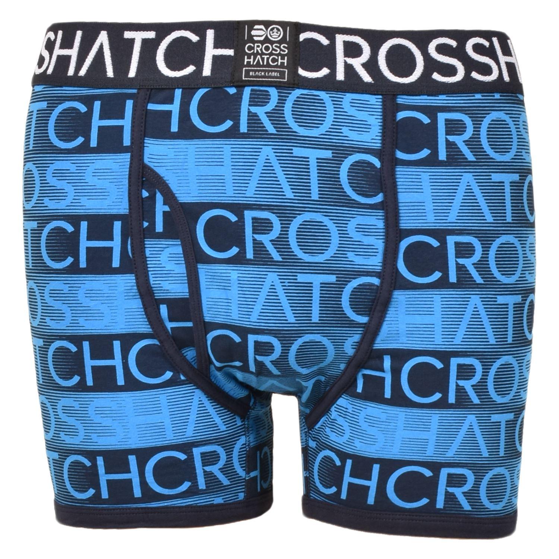 thumbnail 77 - Mens Crosshatch Boxers 3 Pack Shorts Underwear Underpants Trunks Multipack Sets
