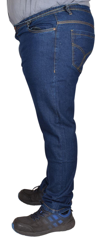 Mens Denim Jeans Cotton Regular Fit Straight Leg Trousers Pants Big /& Tall Sizes