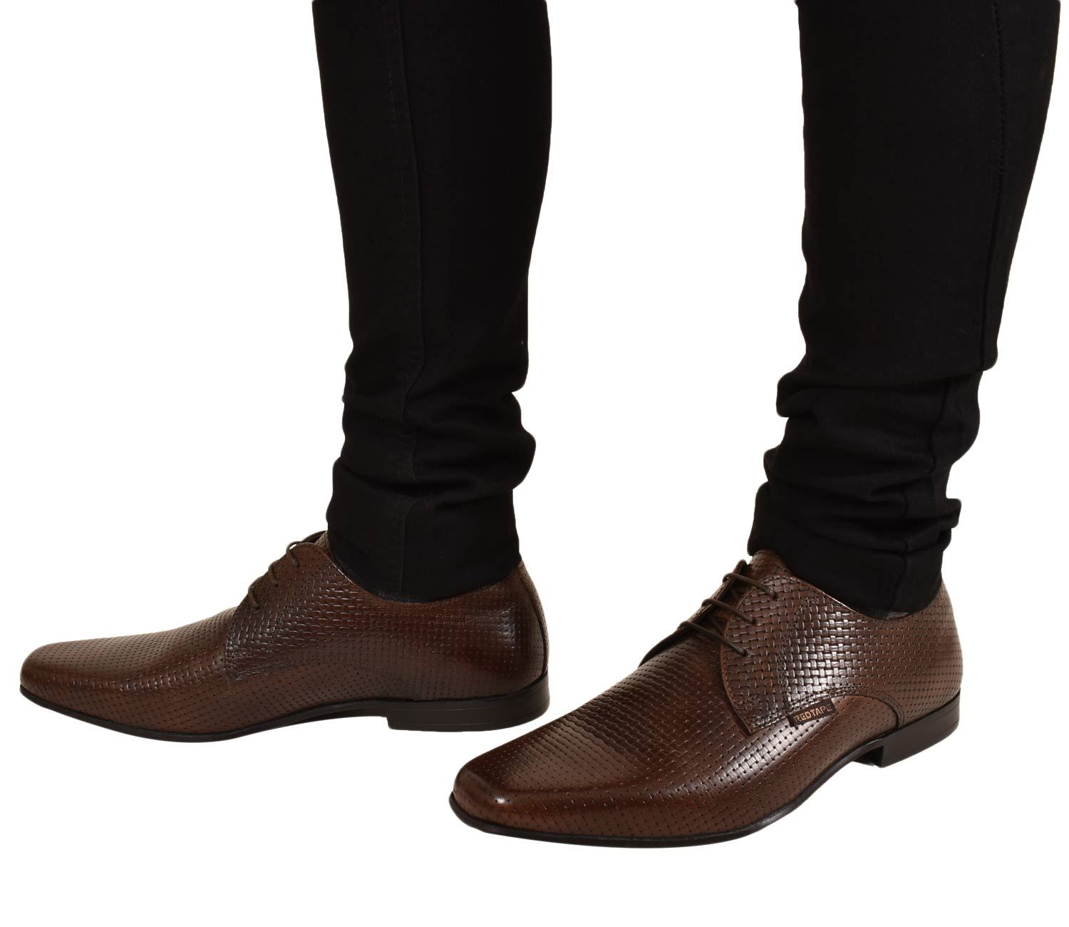 Mens-UK-Style-Leather-Lining-Formal-Office-Wedding-Smart-Work-Brogue-Shoes thumbnail 65