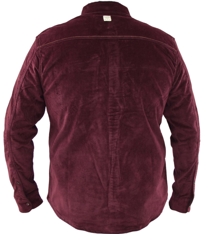 Mens-Corduroy-Cotton-Shirt-Long-Sleeve-Casual-Shirts-Jacksouth-Jacket-Top-S-2XL thumbnail 46