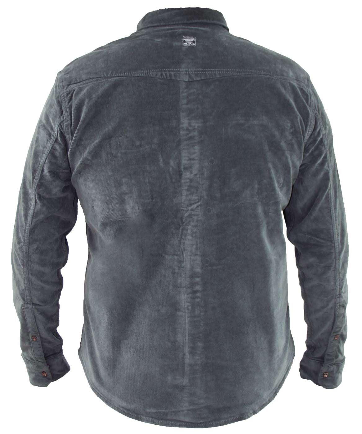 Mens-Corduroy-Cotton-Shirt-Long-Sleeve-Casual-Shirts-Jacksouth-Jacket-Top-S-2XL thumbnail 24