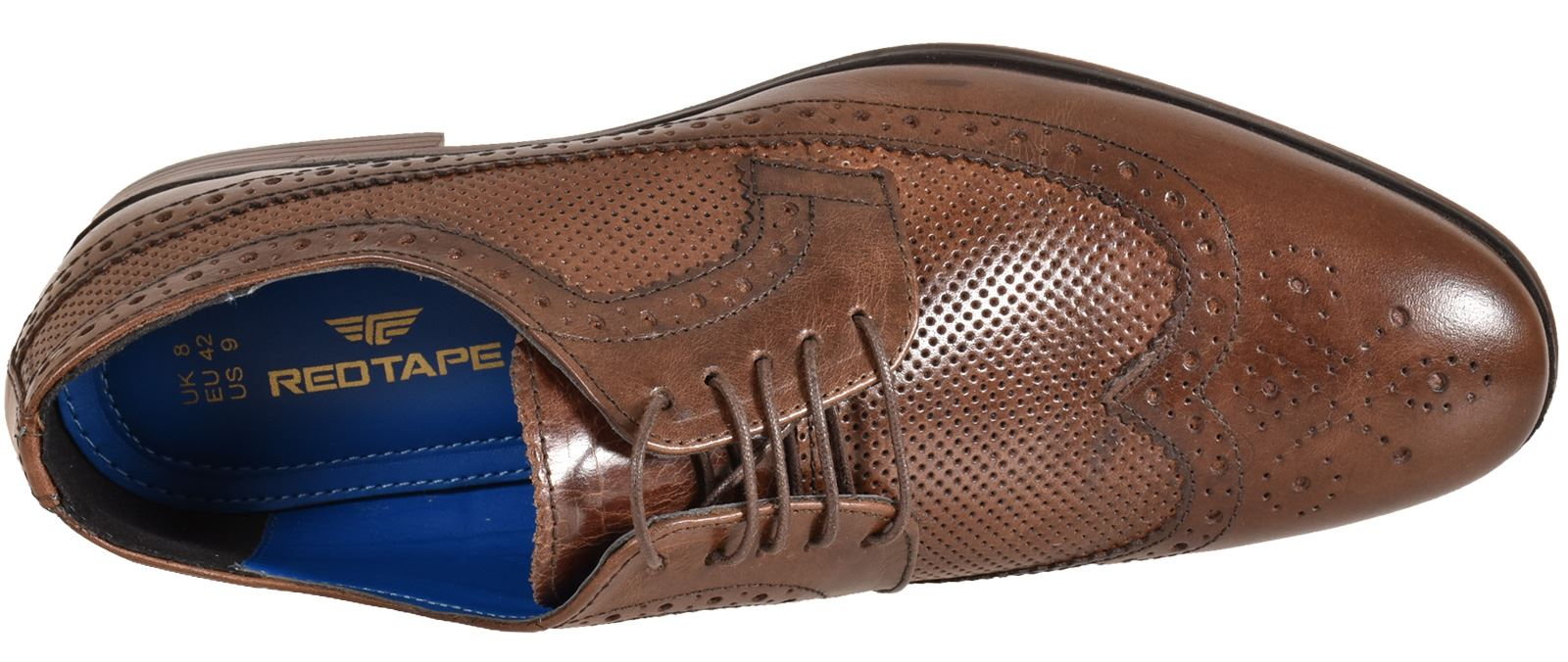Mens-UK-Style-Leather-Lining-Formal-Office-Wedding-Smart-Work-Brogue-Shoes thumbnail 107