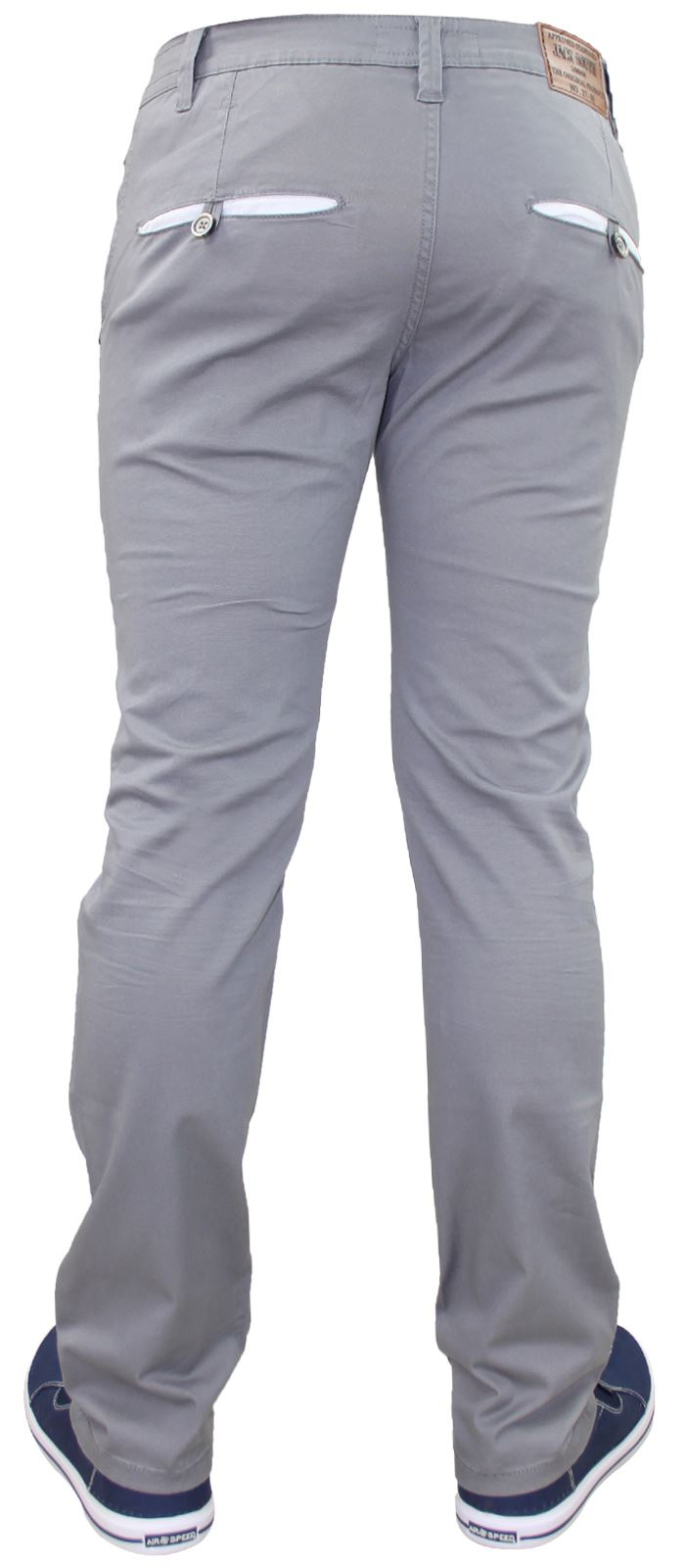 Men-Chinos-Trousers-Regular-Fit-Stretch-Cotton-Jeans-Pants-All-Waist-Sizes thumbnail 11