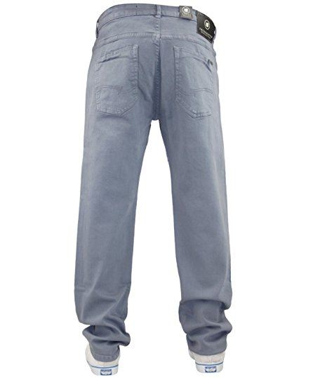 Mens-Slim-Fit-Pantalones-Pantalones-Vaqueros-Crosshatch-Stretch-Denim-Cintura-Tallas-30-38 miniatura 10