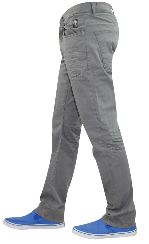 Crosshatch-Hombre-Denim-Jeans-Corte-Recto-Pantalones-Pantalones-todos-los-tamanos-de-la-cintura miniatura 5