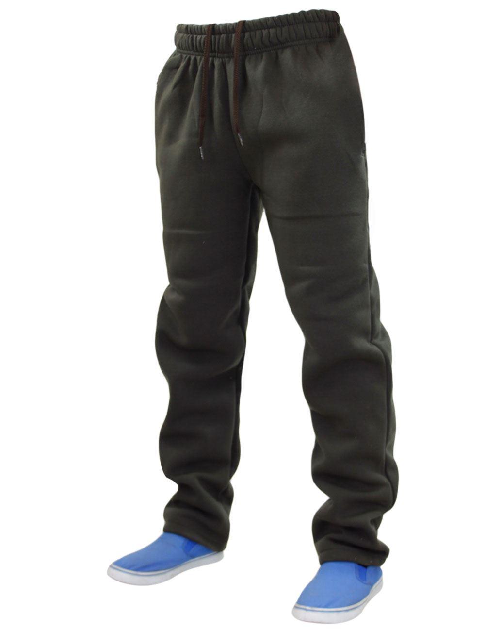 Mens-Women-Plain-Fleece-Joggers-Bottoms-Jogging-Pant-Gym-Fitness-Sports-Trousers thumbnail 7