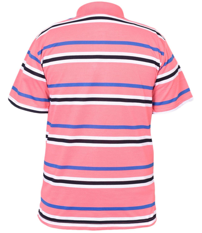 Mens-T-Shirts-Yarn-Dyed-Strip-Pocket-Polo-Shirt-Top-Multi-Colour-Size-M-3XL thumbnail 20