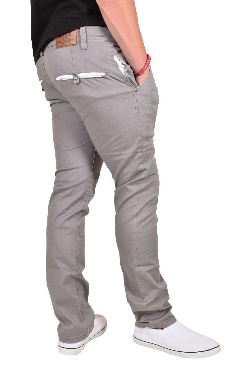 New-Mens-Designer-Jacksouth-Chino-Regular-Fit-Stretch-Cotton-Rich-Twill-Trousers thumbnail 15