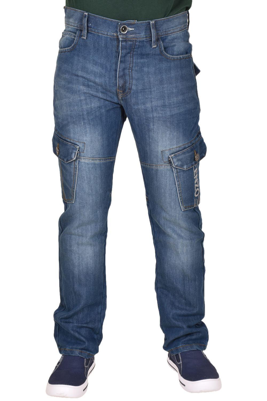 Enzo Jeans Para Hombre Pantalones Cargo Combate Denim Pantalones De Vestir Casual Todos Los Tamanos De La Cintura Y Piernas Control Ar Com Ar