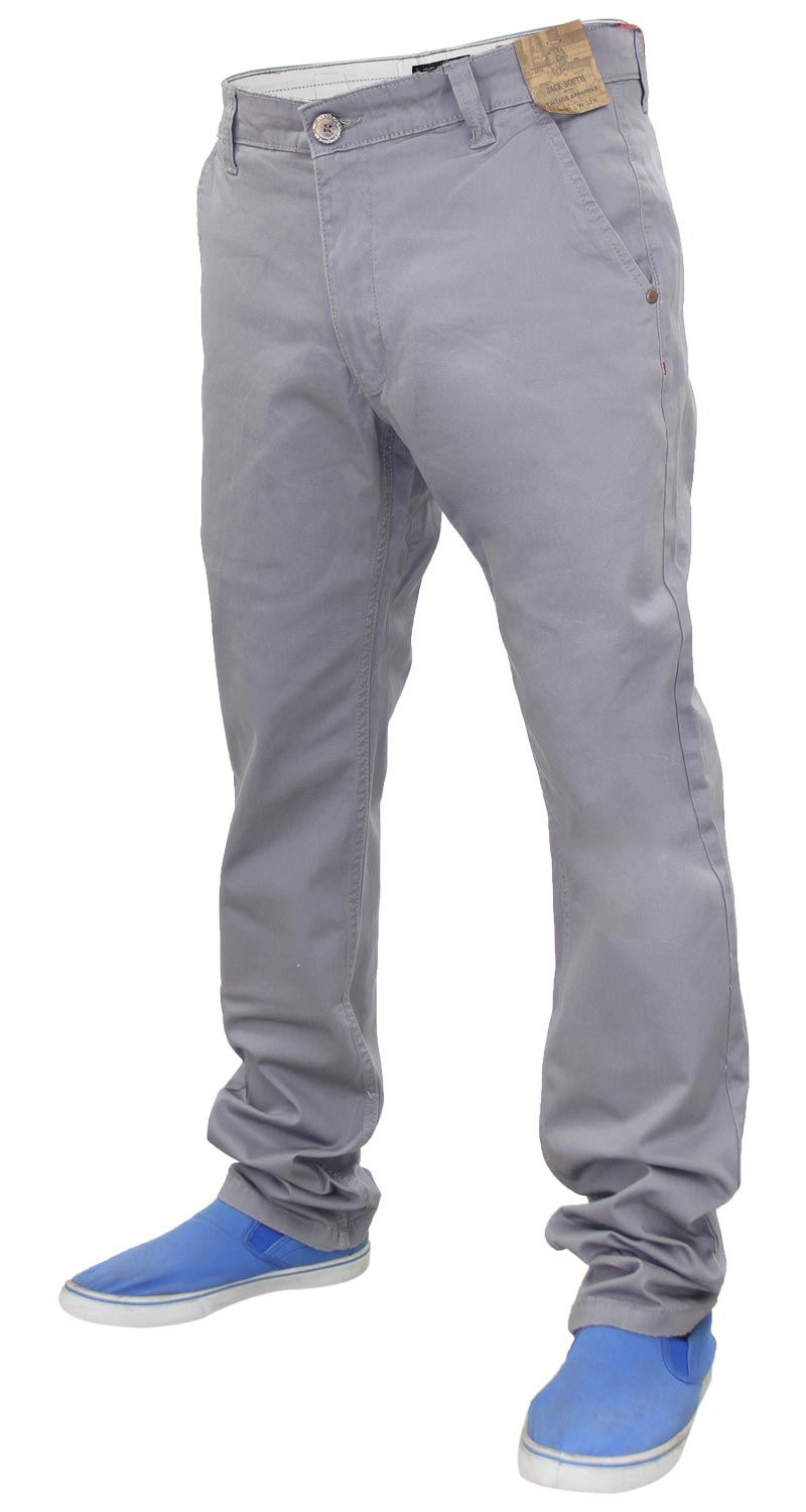 Jacksouth-Mens-Chinos-Trousers-Regular-Fit-Stretch-Cotton-Rich-Twill-Jeans-Pants thumbnail 12