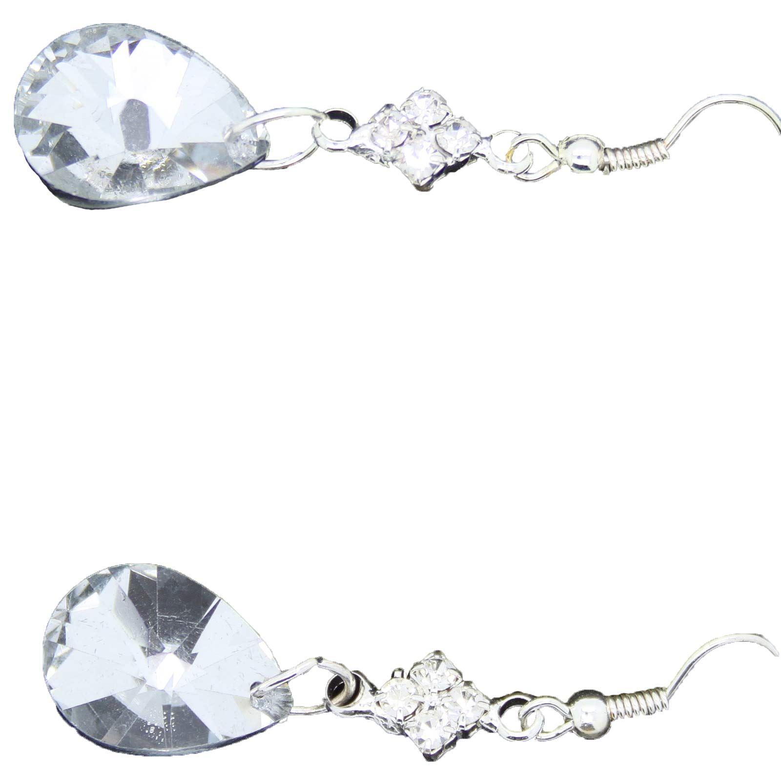 True-Face-Ladies-Women-039-s-Elegant-Earrings-Necklace-Set-Metal-Alloy-Jewellery thumbnail 47