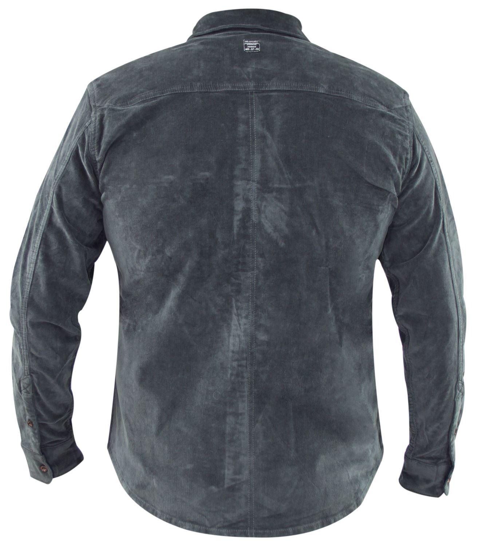 Mens-Corduroy-Cotton-Shirt-Long-Sleeve-Casual-Shirts-Jacksouth-Jacket-Top-S-2XL thumbnail 9