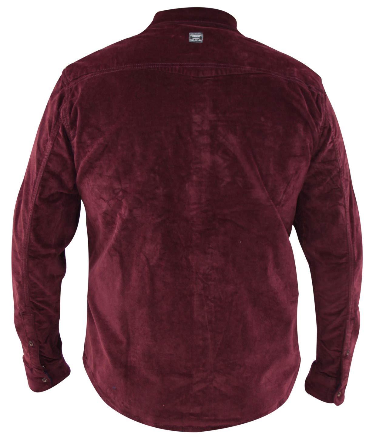 Mens-Corduroy-Cotton-Shirt-Long-Sleeve-Casual-Shirts-Jacksouth-Jacket-Top-S-2XL thumbnail 30