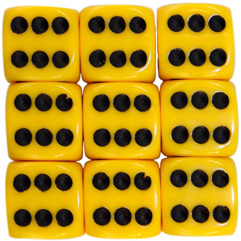 Nouveau-opaque-10-14-16mm-six-sided-spot-dice-D6-rpg-pour-ludo-monopoly-board-games miniature 43