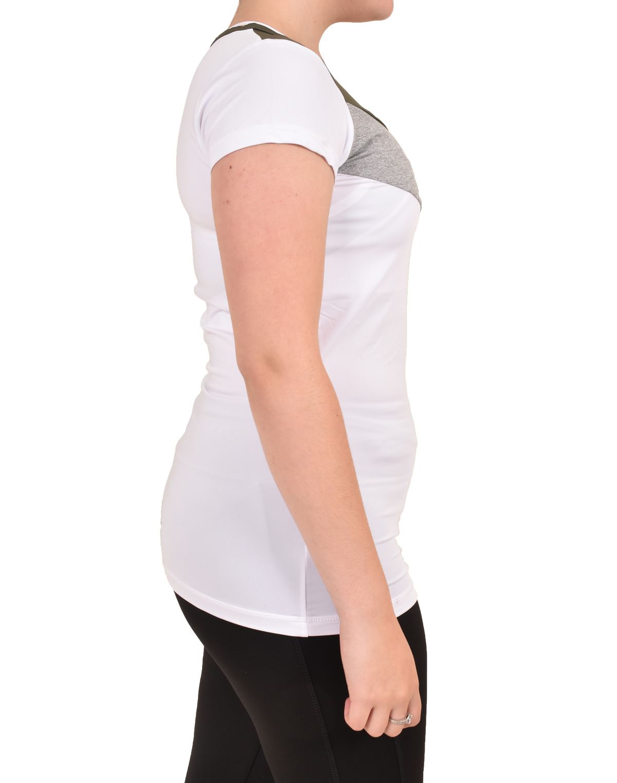 Camiseta-para-mujer-Skechers-Secado-Rapido-Top-senoras-de-Deportes-Activewear-Gimnasio-Fitness-Dance miniatura 14