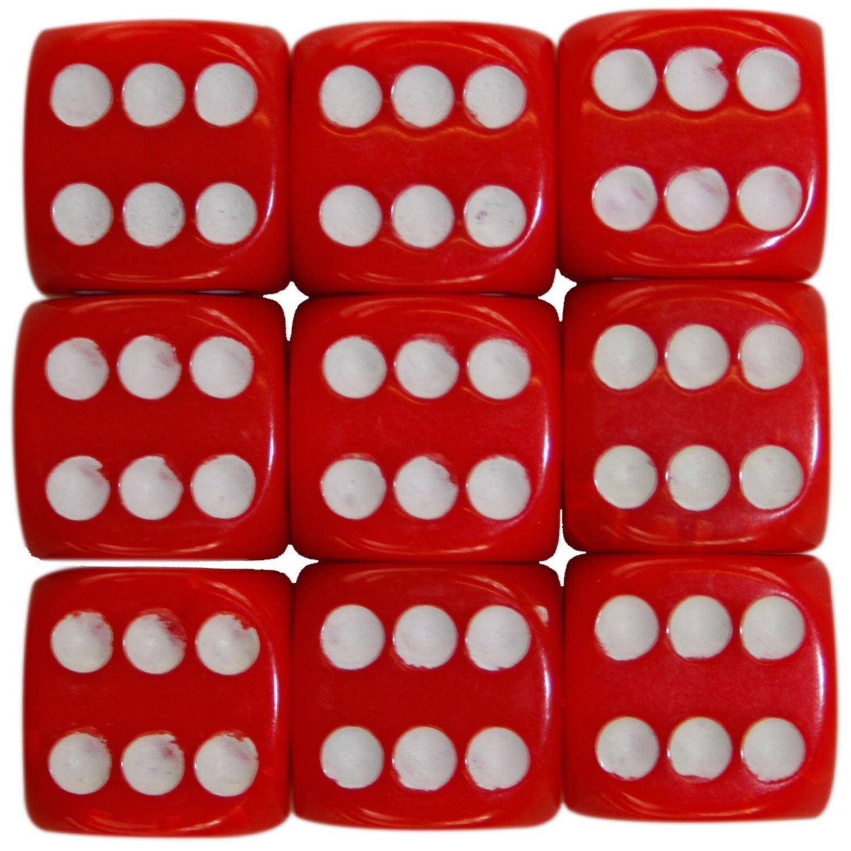 Nouveau-opaque-10-14-16mm-six-sided-spot-dice-D6-rpg-pour-ludo-monopoly-board-games miniature 87