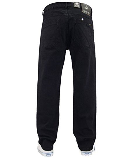Mens-Slim-Fit-Pantalones-Pantalones-Vaqueros-Crosshatch-Stretch-Denim-Cintura-Tallas-30-38 miniatura 6