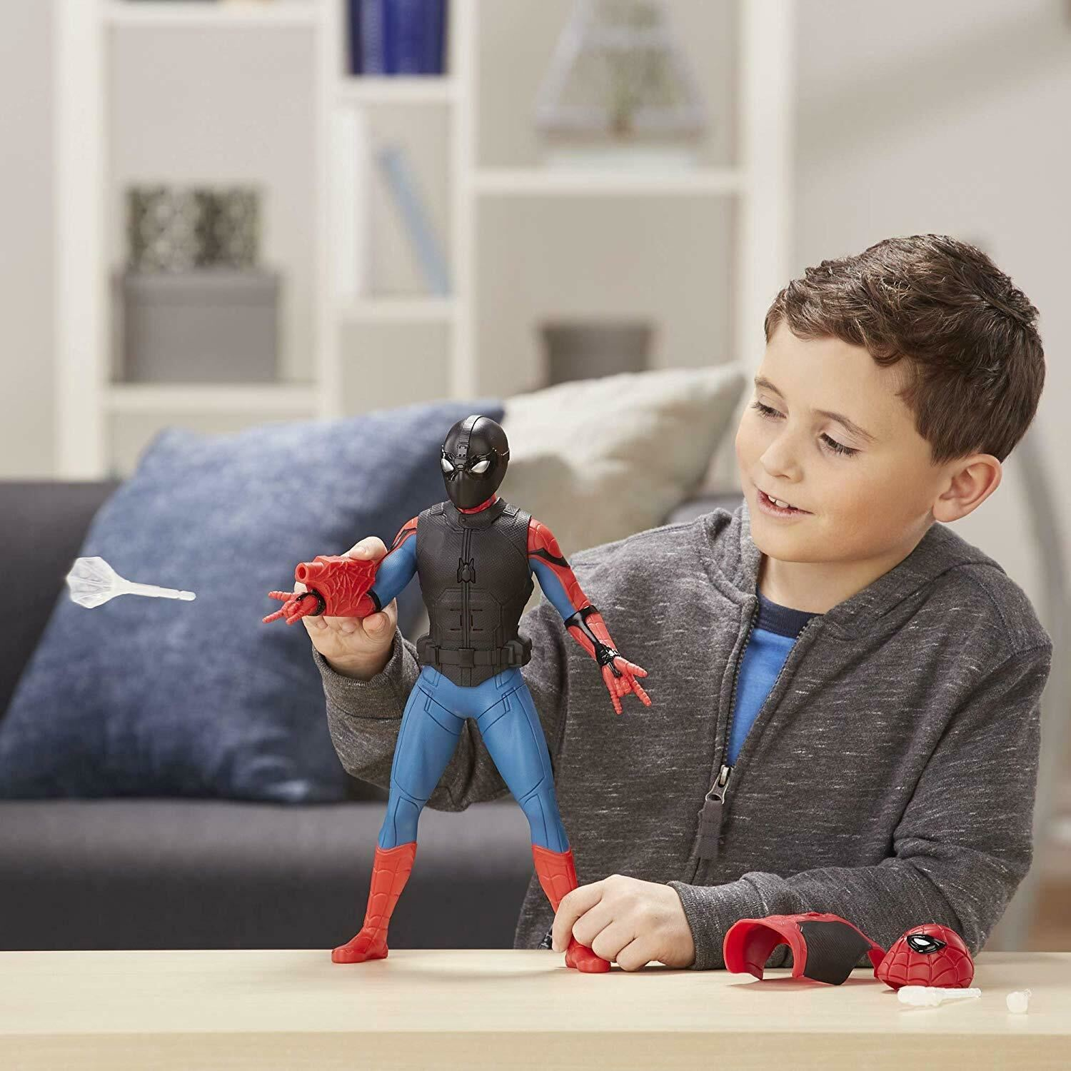 Marvel-Spider-Man-3-in-1-Far-From-Home-Web-Gear-Action-Figure-Toy-2019-Xmas-Gift thumbnail 5