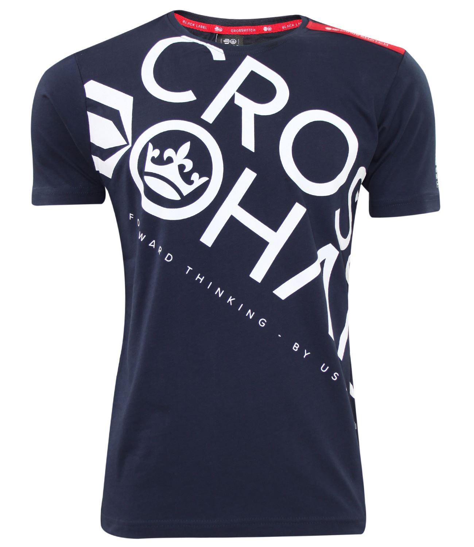 Crosshatch Black Label Camiseta - Para Hombre TqYZh