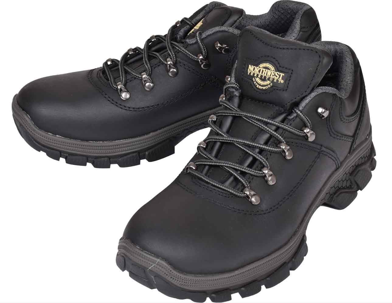 91b6ef7500c Details about NORTHWEST Mens Leather Hiker Trainer Walking Trail Waterproof  Ankle Boots Size