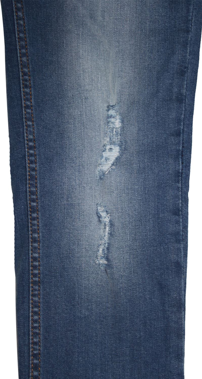 Mens-Skinny-Stretch-Ripped-Jeans-Slim-Fit-Casual-Trousers-Denim-Pants-All-Sizes thumbnail 10