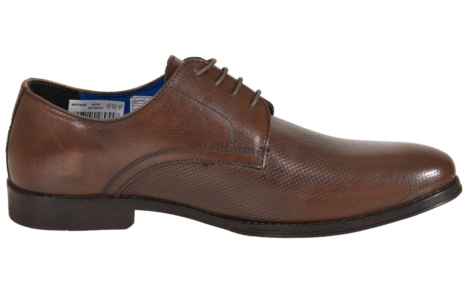 Mens-UK-Style-Leather-Lining-Formal-Office-Wedding-Smart-Work-Brogue-Shoes thumbnail 46