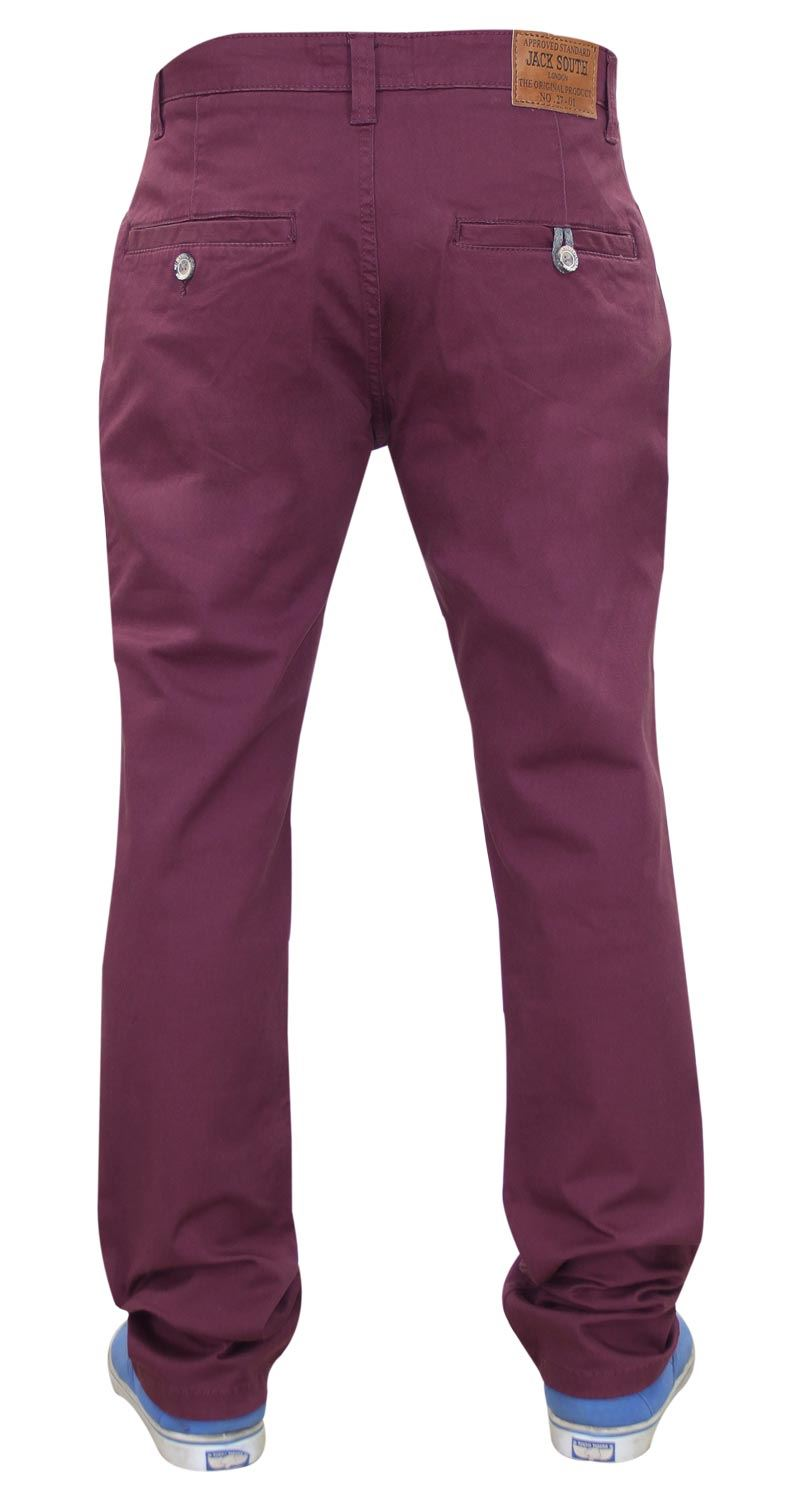 Jacksouth-Mens-Chinos-Trousers-Regular-Fit-Stretch-Cotton-Rich-Twill-Jeans-Pants thumbnail 32