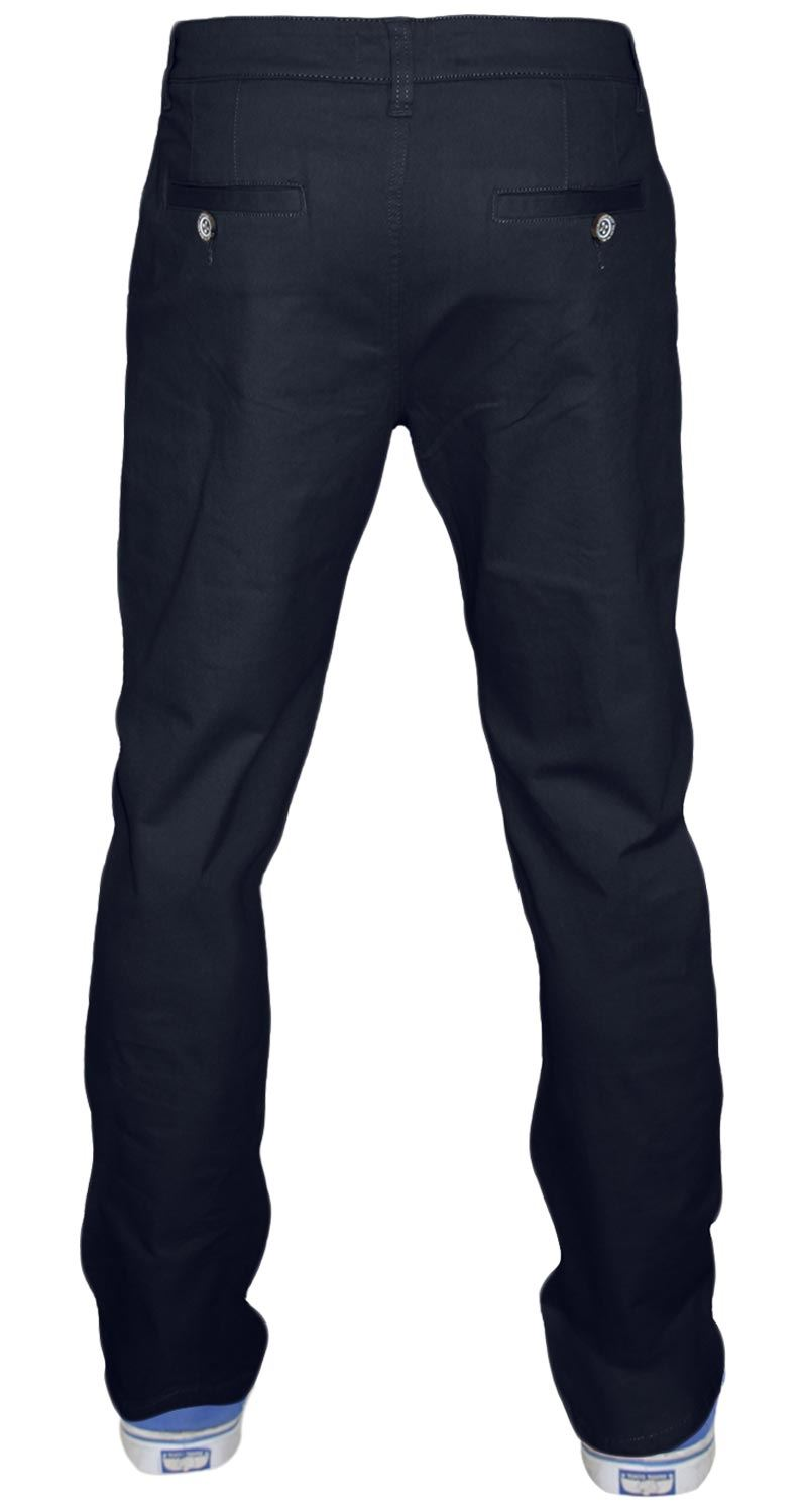 Men-Chinos-Regular-Fit-Jeans-Cotton-Stretch-Casual-Pants-Trousers-All-Waist-Size thumbnail 10