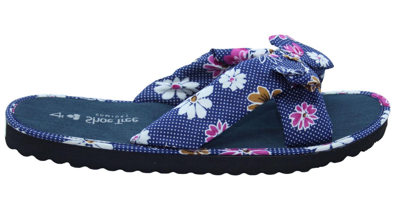 Ladies-Mule-Hawaiian-Floral-Womens-Beach-Slipper-Slip-on-Shoes thumbnail 13