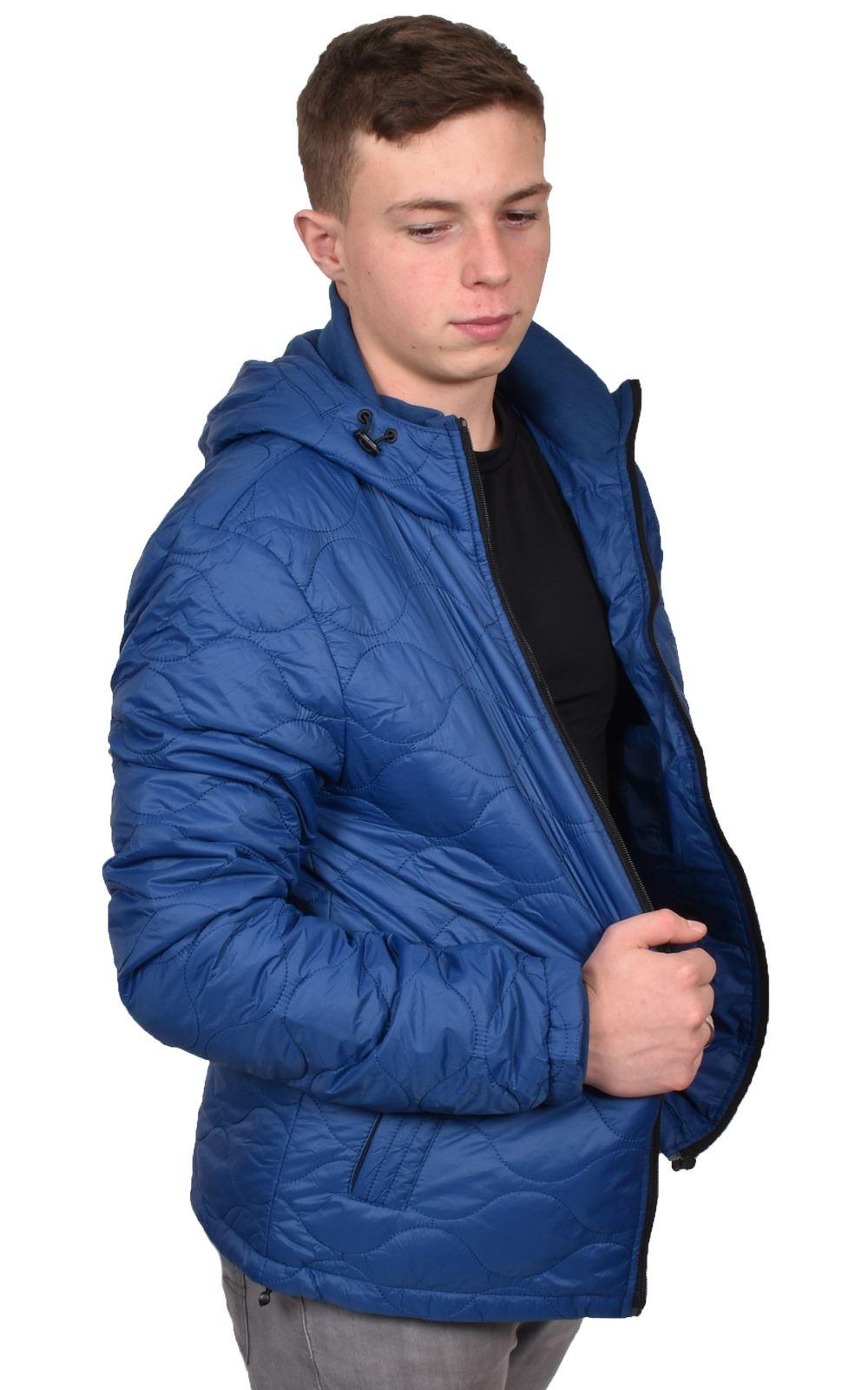 Mens-Smith-amp-Jones-Jacket-Full-Zip-Fleece-Lined-Hooded-Light-Weight-Warm-Coat thumbnail 11