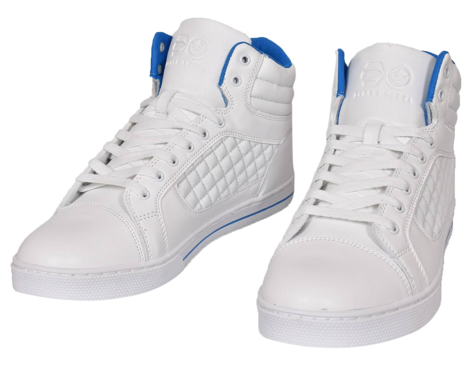 Mens-Trainers-Lace-up-Crosshatch-High-Tops-Ankle-Padded-Shoes-New-UK-Sizes-7-12 thumbnail 19