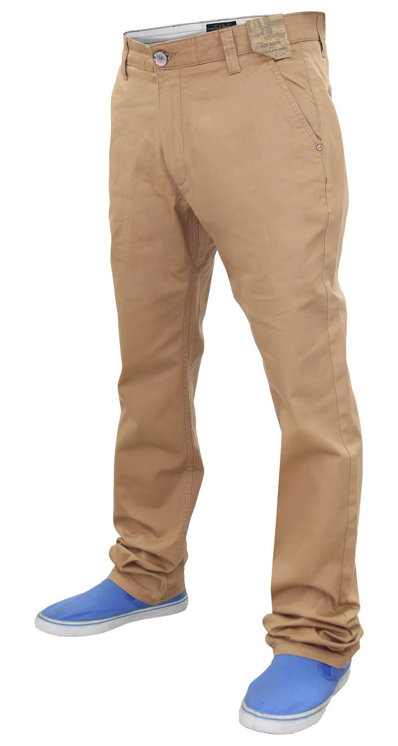 Jacksouth-Mens-Chinos-Trousers-Regular-Fit-Stretch-Cotton-Rich-Twill-Jeans-Pants thumbnail 24