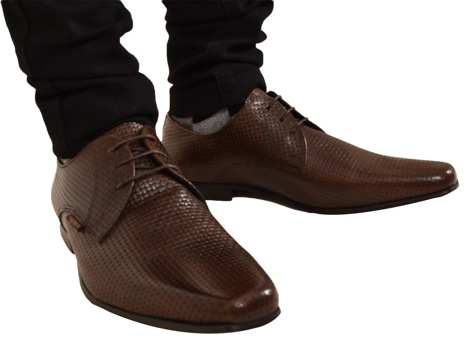 Mens-UK-Style-Leather-Lining-Formal-Office-Wedding-Smart-Work-Brogue-Shoes thumbnail 64