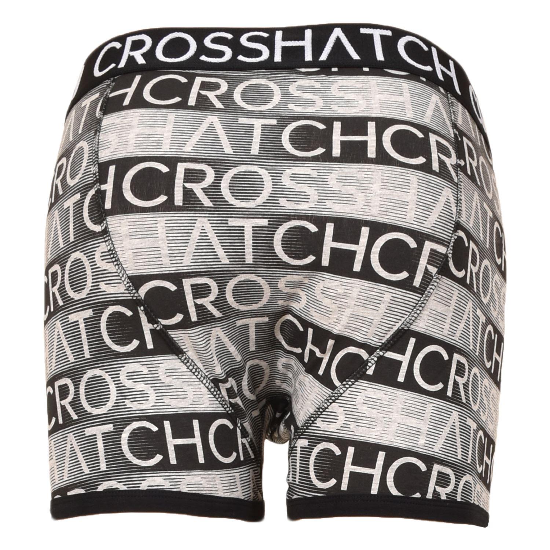 thumbnail 42 - Mens Crosshatch Boxers 3 Pack Shorts Underwear Underpants Trunks Multipack Sets