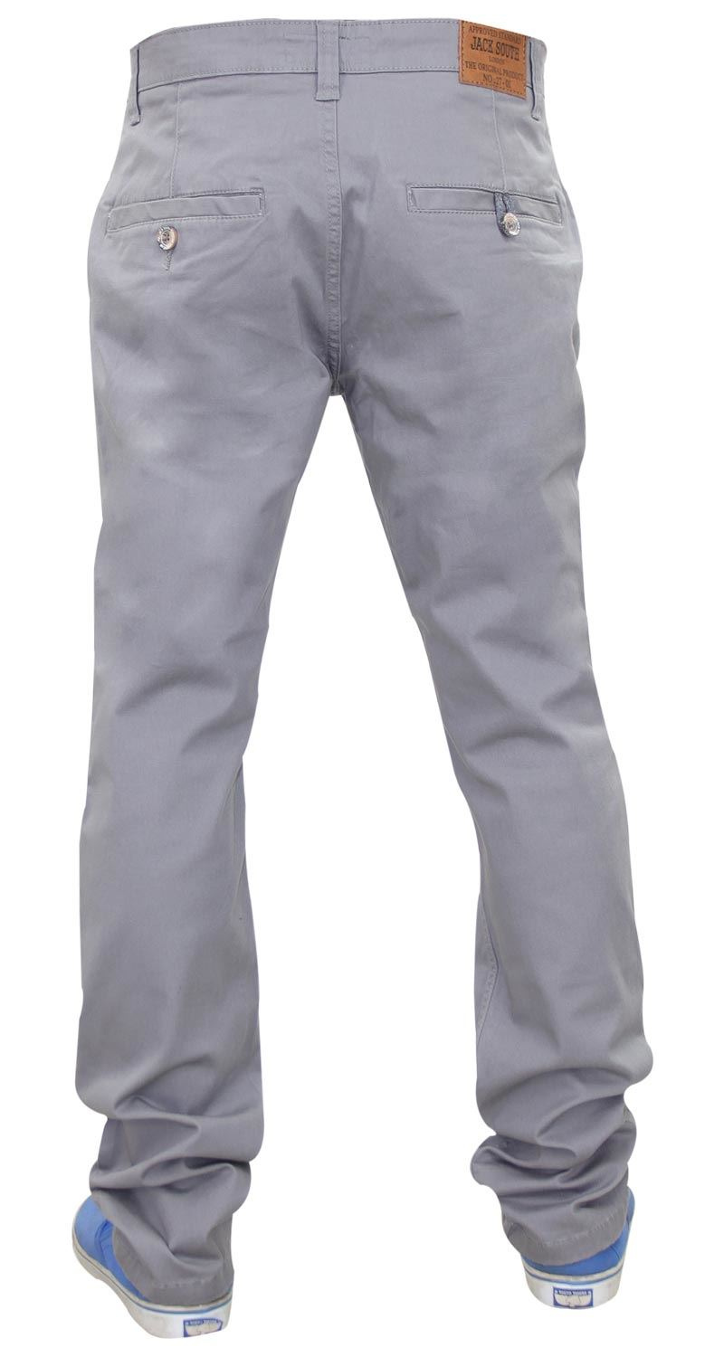 Jacksouth-Mens-Chinos-Trousers-Regular-Fit-Stretch-Cotton-Rich-Twill-Jeans-Pants thumbnail 13
