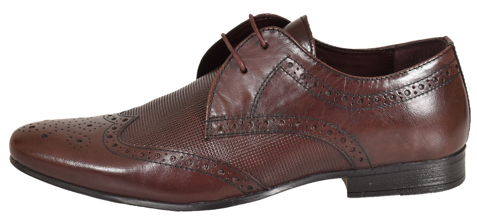 Mens-UK-Style-Leather-Lining-Formal-Office-Wedding-Smart-Work-Brogue-Shoes thumbnail 121