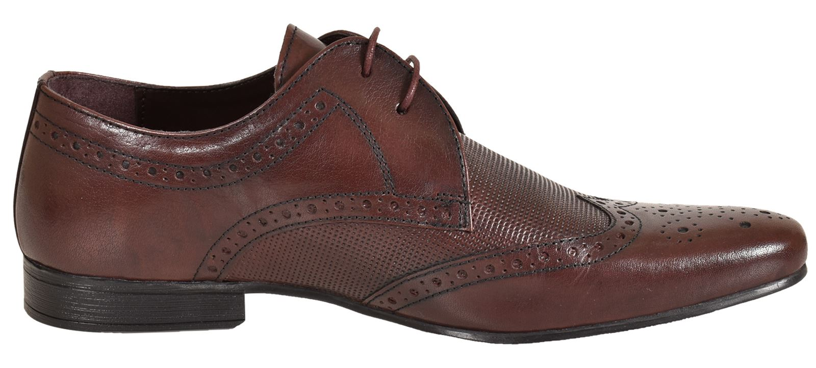 Mens-UK-Style-Leather-Lining-Formal-Office-Wedding-Smart-Work-Brogue-Shoes thumbnail 122