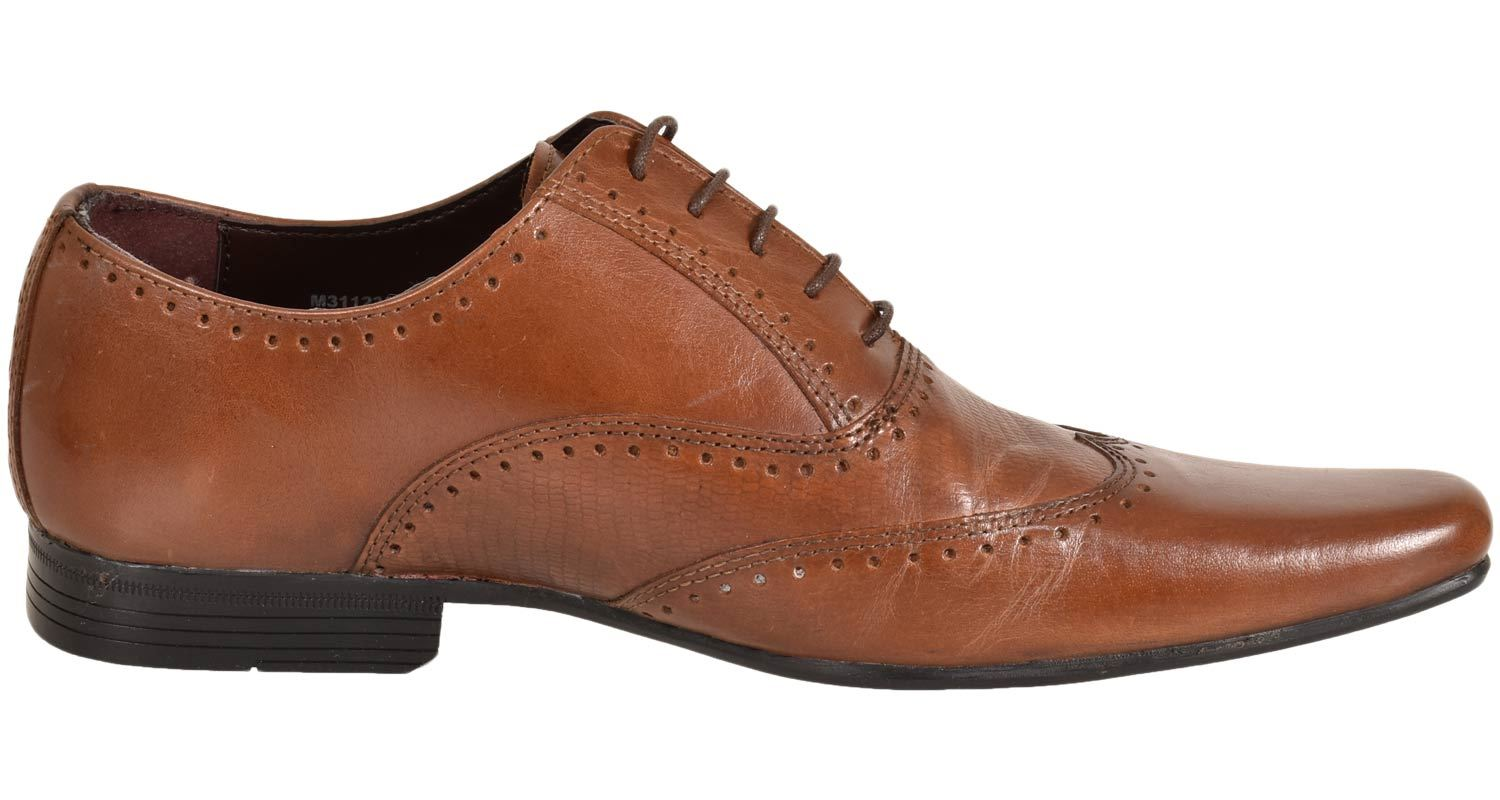 Mens-UK-Style-Leather-Lining-Formal-Office-Wedding-Smart-Work-Brogue-Shoes thumbnail 34