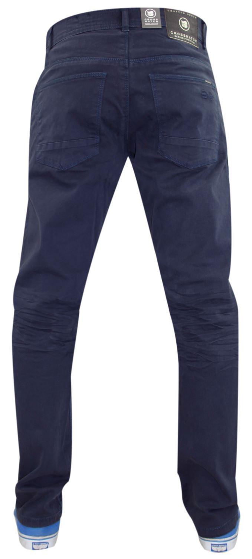 Crosshatch-Hombre-Denim-Jeans-Corte-Recto-Pantalones-Pantalones-todos-los-tamanos-de-la-cintura miniatura 8